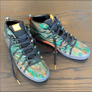 NWOB Nike KD 7 NSW Lifestyle Multi Color Mens Shoe